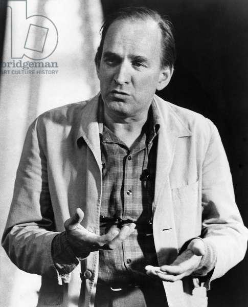 INGMAR BERGMAN (1918-2007) Swedish director and screenwriter. Photographed c.1970.