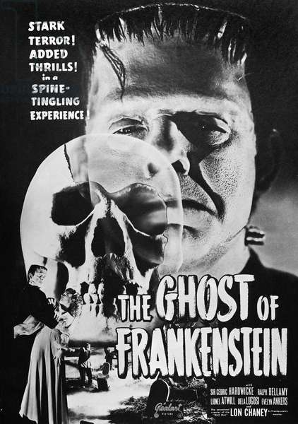 GHOST OF FRANKENSTEIN The Ghost of Frankenstein film poster, 1942.