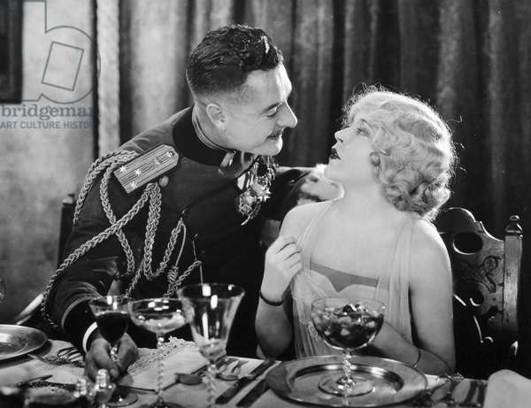 THE MERRY WIDOW, 1925 Mae Murray and John Gilbert in a scene from the film directed by Erich von Stroheim.