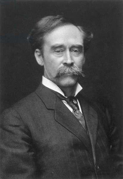 ROBERT PEARY (1856-1920) American arctic explorer.