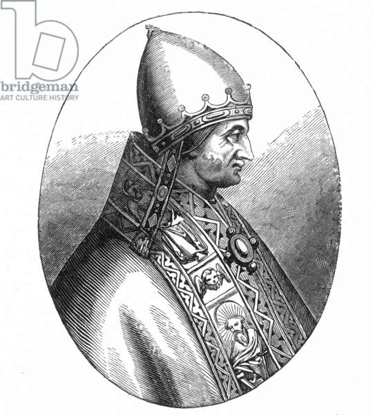 POPE INNOCENT IV (d. 1254) Pope (1243-54): engraving after a painting.