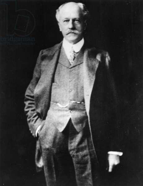 PERCIVAL LOWELL (1855-1916). American astronomer.