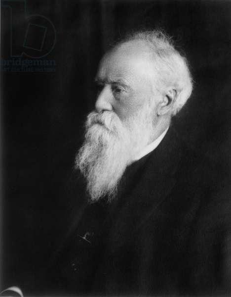 JOHN BURROUGHS (1837-1921) American naturalist. Photograph, early 20th century.