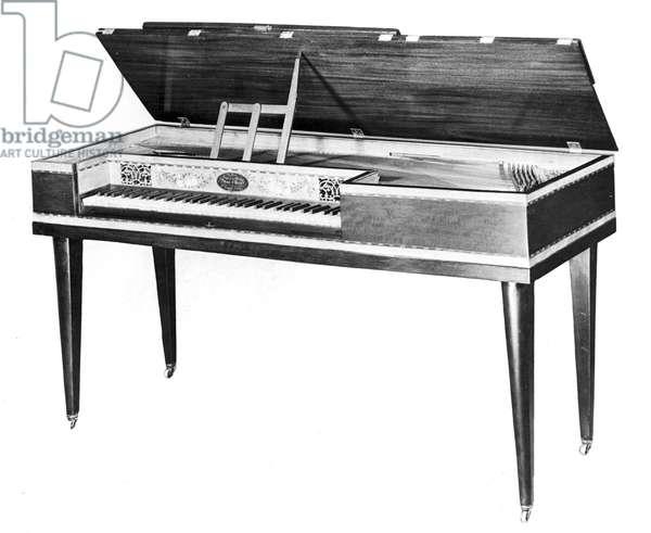 THOMAS JEFFERSON (1743-1826) The piano from Thomas Jefferson's home at Monticello, near Charlottesville, Virginia.