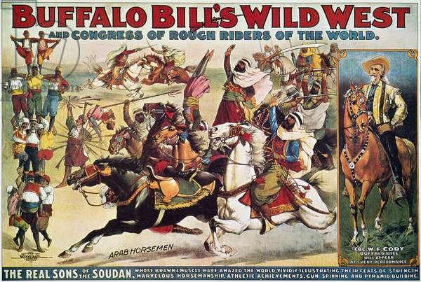 BUFFALO BILL: POSTER, 1899