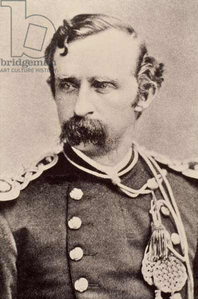 GEORGE A. CUSTER (1839-1876) American army officer. Photographed c.1875.
