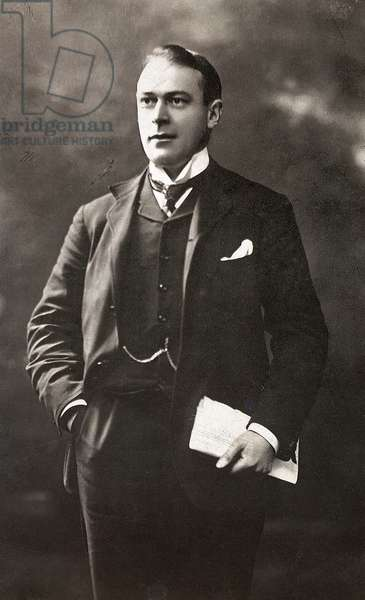 THOMAS ANDREWS (1873-1912) Irish businessman and builder of the 'Titanic.' Photograph, c.1910.