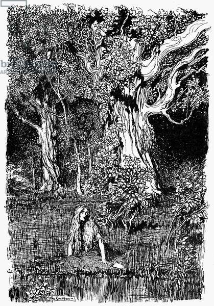 GRIMM'S FAIRY TALES, 1900 Illustration by Arthur Rackham for an edition of Grimm's Fairy Tales, 1900.