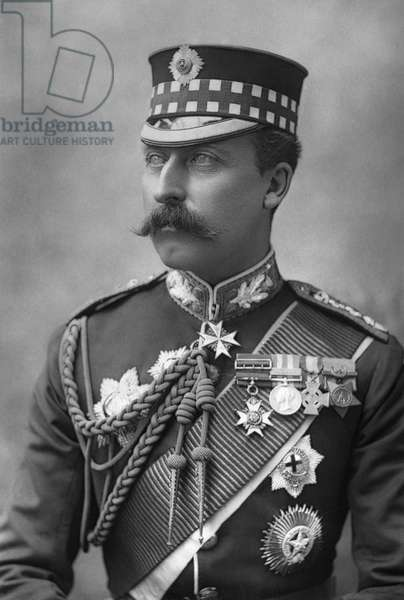 DUKE OF CONNAUGHT (1850-1942) Prince Arthur, Duke of Connaught and Strathearn. Photograph by W. & D. Downey, c.1890.