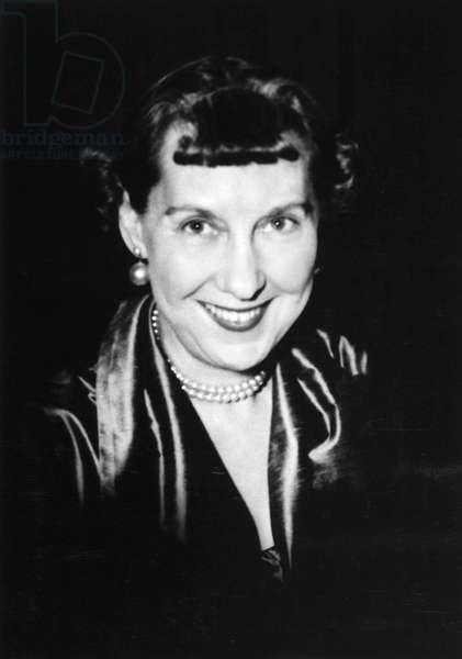 MAMIE EISENHOWER (1896-1979). Mrs. Dwight D. Eisenhower.