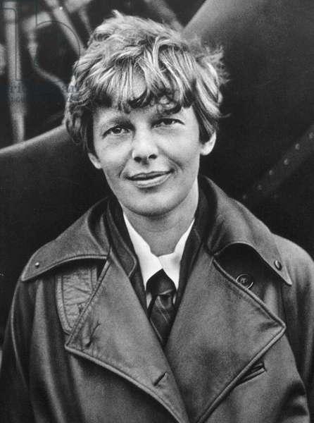 AMELIA EARHART (1897-1937) American aviator. Photograph, c.1920