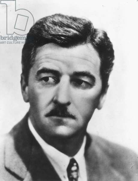 WILLIAM FAULKNER (1897-1962) American writer.