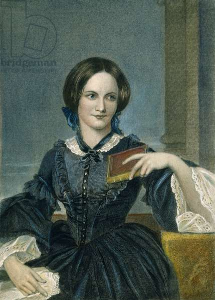 CHARLOTTE BRONTE (1816-1855). English author. Color engraving, 19th century.