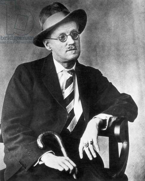 JAMES JOYCE (1882-1941) Irish writer.