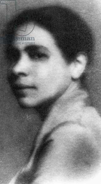 NELLA LARSEN (1891-1964) American writer.