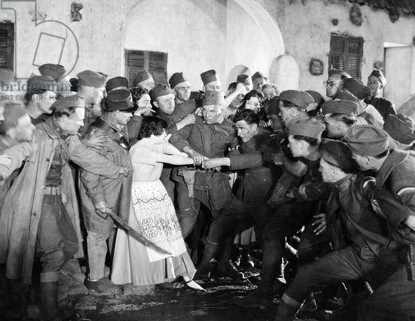 SILENT STILL: ARMY & NAVY John Gilbert in 'The Big Parade,' 1925.