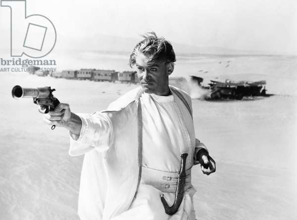 LAWRENCE OF ARABIA, 1962 Peter O'Toole in the title role.