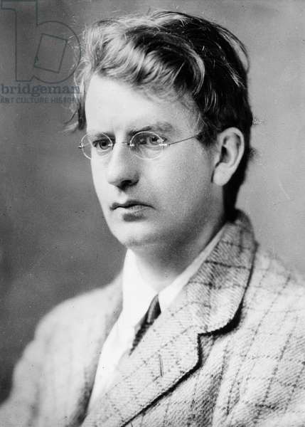 JOHN LOGIE BAIRD (1888-1946) Scottish engineer and an inventor of the television. Photograph, 1927.