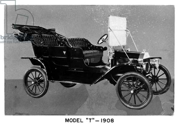 MODEL T FORD, 1908.