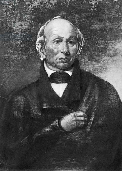 BLACK HAWK (1767-1838) American Sauk Native American leader. Photogravure from a painting by Robert Matthew Sully (1803-1855).