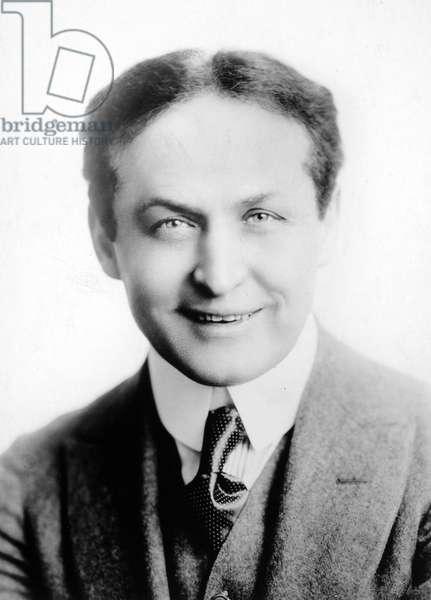 HARRY HOUDINI (1874-1926) American magician.