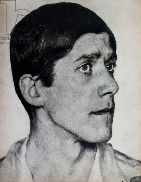 OSKAR KOKOSCHKA (1886-1980) Austrian painter and dramatist. Photographed in 1919 by Hugo Erfurth.