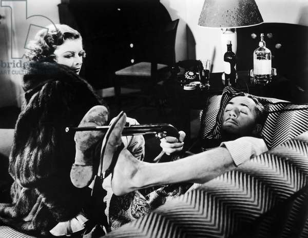 FILM: THE THIN MAN, 1934 Myrna Loy and William Powell as Nora and Nick Charles in the 1934 film based on a detective novel by Dashiell Hammett.
