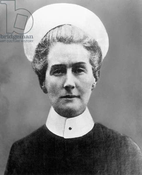 EDITH CAVELL (1865-1915) English nurse.
