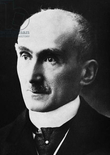 HENRI BERGSON (1859-1941) French philosopher. Photographed c.1928.