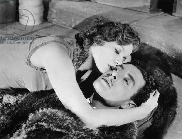 FLESH AND THE DEVIL, 1927 Greta Garbo and John Gilbert in 'Flesh and the Devil', 1927.