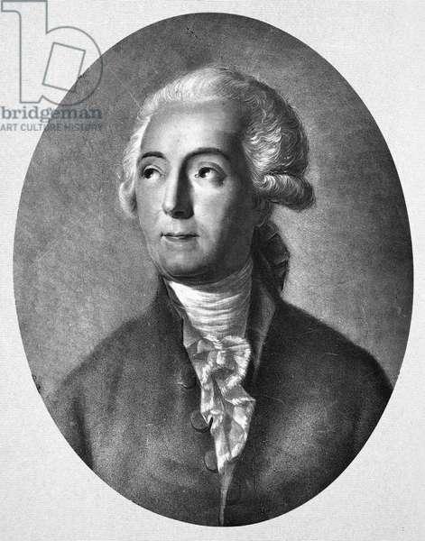 ANTOINE LAURENT LAVOISIER (1743-1794). French chemist. After Jacques Louis David.