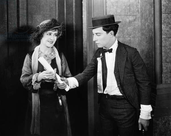 FILM: COLLEGE, 1927 Starring Buster Keaton.