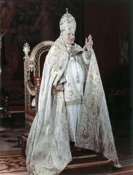 JOHN XXIII (1881-1963) Pope, 1958-1963. Photograph, c.1962.