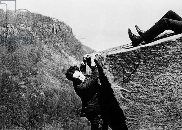 HARRY HOUDINI (1874-1926) American magician. Film still.