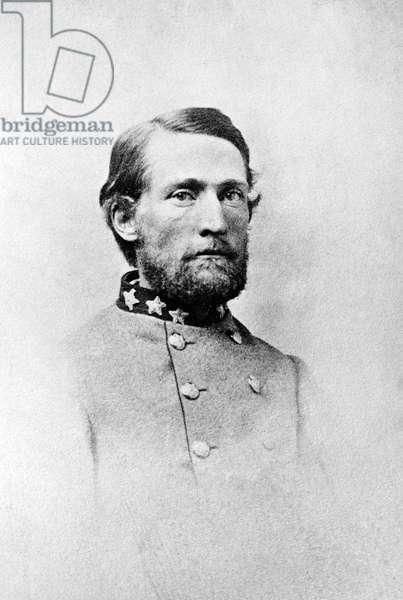 JOHN SINGLETON MOSBY (1833-1916). Confederate officer in the American Civil War. Photograph, c.1865.