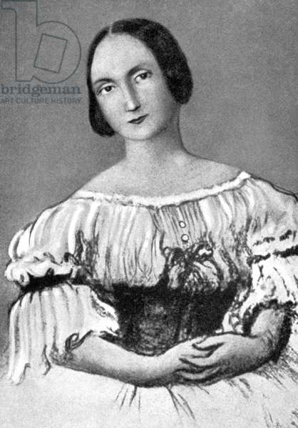 OLYMPE ROSSINI (d.1878) Full name: Olympe Descuilliers-Pelissier Rossini. Second wife of Gioacchino Rossini.