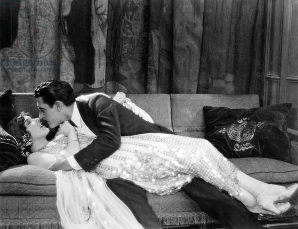 JOHN GILBERT (1895-1936) Né John Pringle. American actor. With Aileen Pringle in the 1924 movie, 'Wife Of The Centaur.'