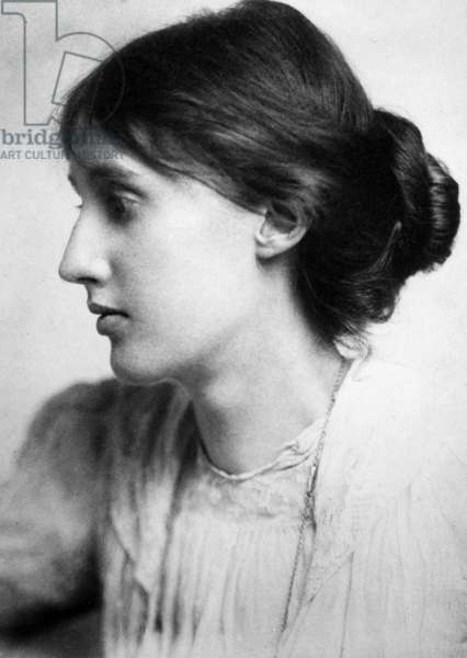 VIRGINIA WOOLF (1882-1941) English writer. Photographed in July 1902 by George Charles Beresford.