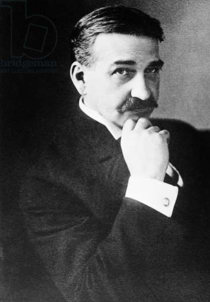 L. FRANK BAUM (1856-1919) American author. Photograph, c.1914.