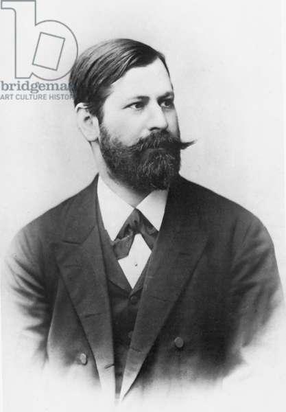 SIGMUND FREUD (1856-1939). Austrian neurologist; photographed in 1891.