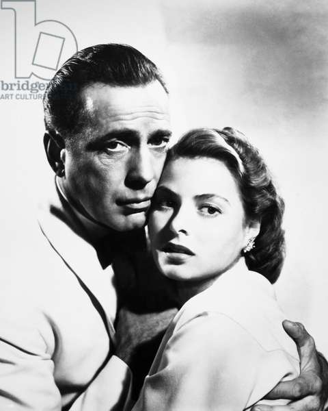 CASABLANCA, 1942 Humphrey Bogart and Ingrid Bergman in a scene from 'Casablanca,' 1942.