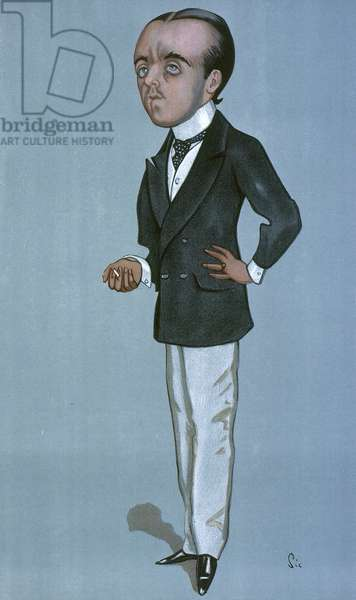 MAX BEERBOHM (1872-1956) Caricature, 1897, by