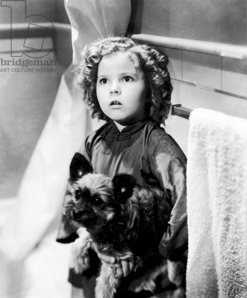 SHIRLEY TEMPLE (1928-2014) American child film actress. In 'Stowaway,' 1936.
