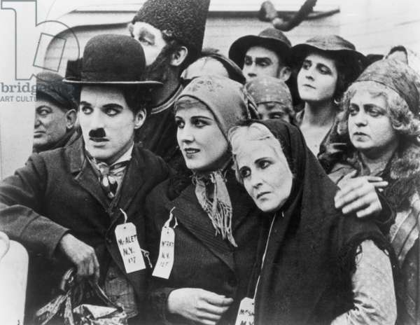 CHAPLIN: 'THE IMMIGRANT' (1917).