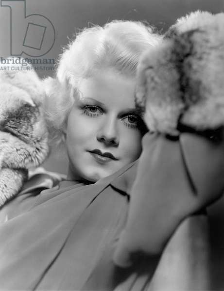 JEAN HARLOW (1911-1937) American actress. Photographed in 1932.
