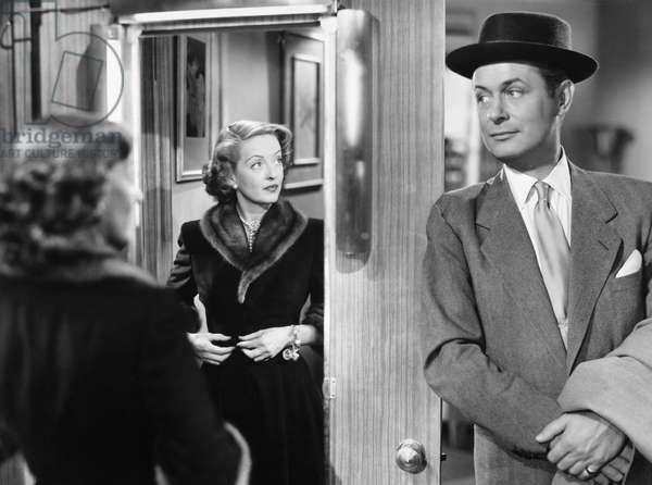 BETTE DAVIS (1908-1989) Bette Davis and Robert Montgomery in 'June Bride,' 1948.
