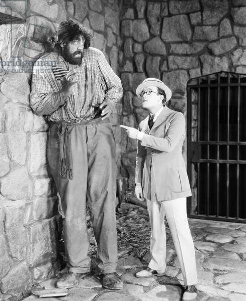 HAROLD LLOYD (1889-1971) American comedian.
