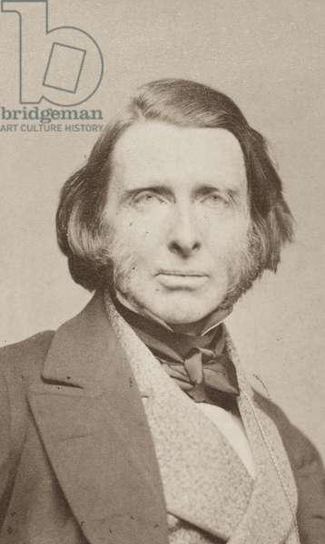 JOHN RUSKIN (1819-1900) English critic. Original carte-de-visite photograph.