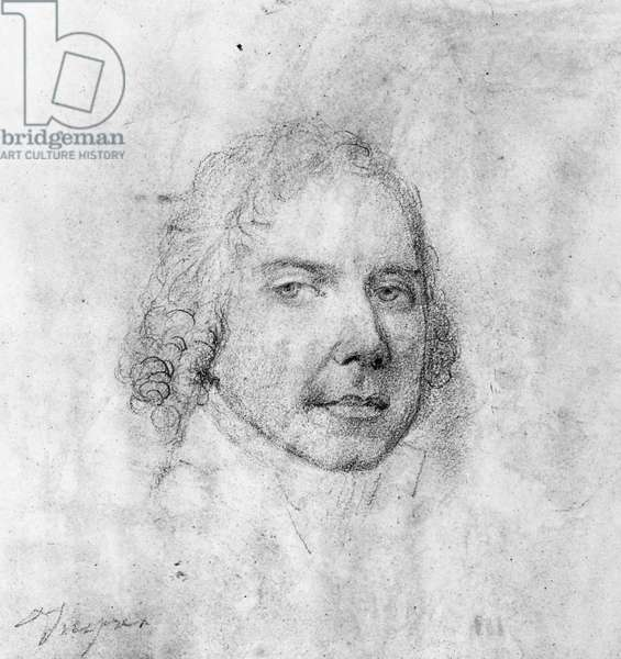 PRINCE TALLEYRAND (1754-1838). Charles Maurice de Talleyrand. French statesman. Sketch by J.A.D. Ingres.