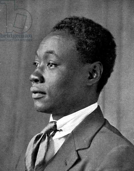 CLAUDE McKAY (1890-1948) American (Jamaican-born) writer. Photograph, c.1920.